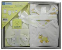 Bambini 5 Piece Gift Box - Yellow