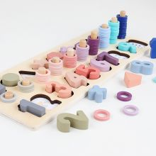 WOODEN MONTESSORI MATH TOY