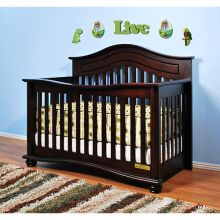 Lia 3-in-1 Convertible Crib (Color Option: Cherry)