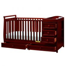 Daphne I 3-in-1 Convertible Crib (Color Option: Cherry)